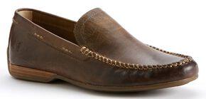 Frye Men's Lewis Venetian Shoes, Tan, hi-res