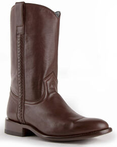 Ferrini Men's Rider Western Boots - Round Toe, Chocolate, hi-res