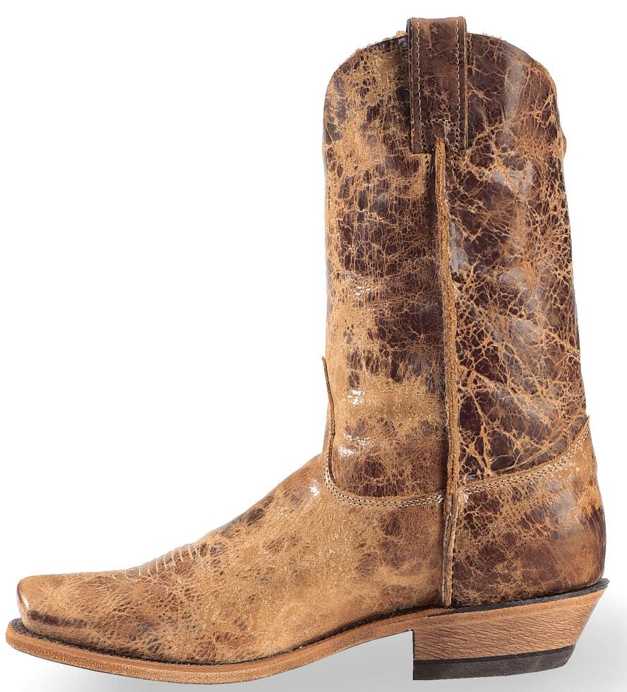 699b1cec95e Justin Men's Distressed Cowboy Boots - Square Toe