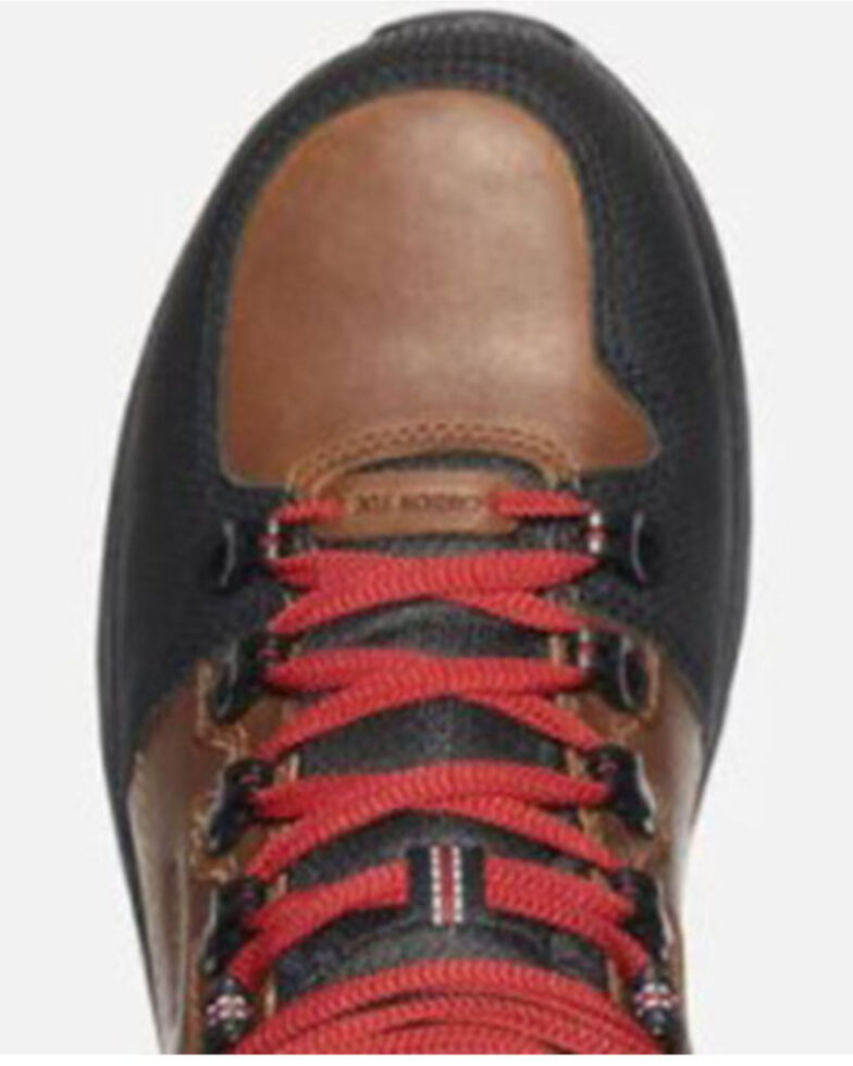 Keen Men's Red Hook Waterproof Work Boots - Carbon Toe, Brown, hi-res