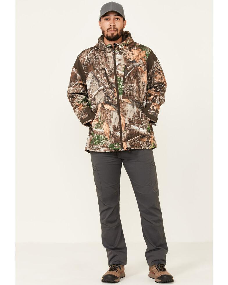 Wrangler ATG Men's All-Terrain Camo Zip-Front Hooded Softshell Jacket, Camouflage, hi-res