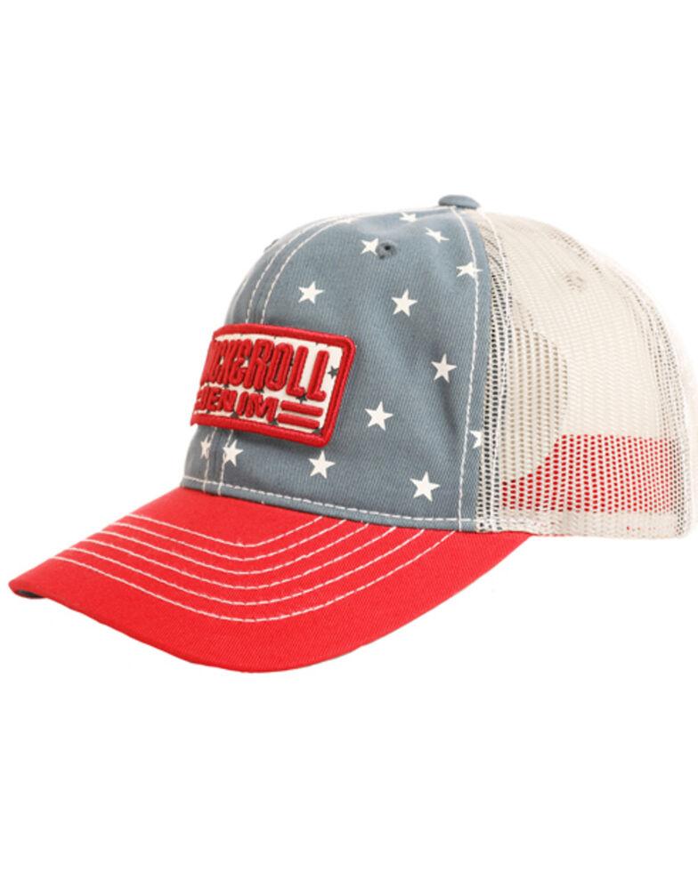Rock & Roll Cowboy Men's Star Logo Patch Cap, Blue, hi-res