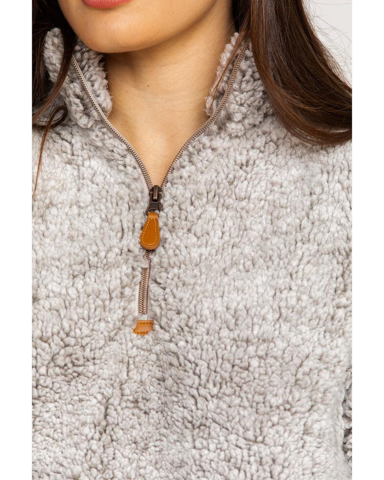 Katydid Women's Sherpa Zip Up Pullover , , hi-res