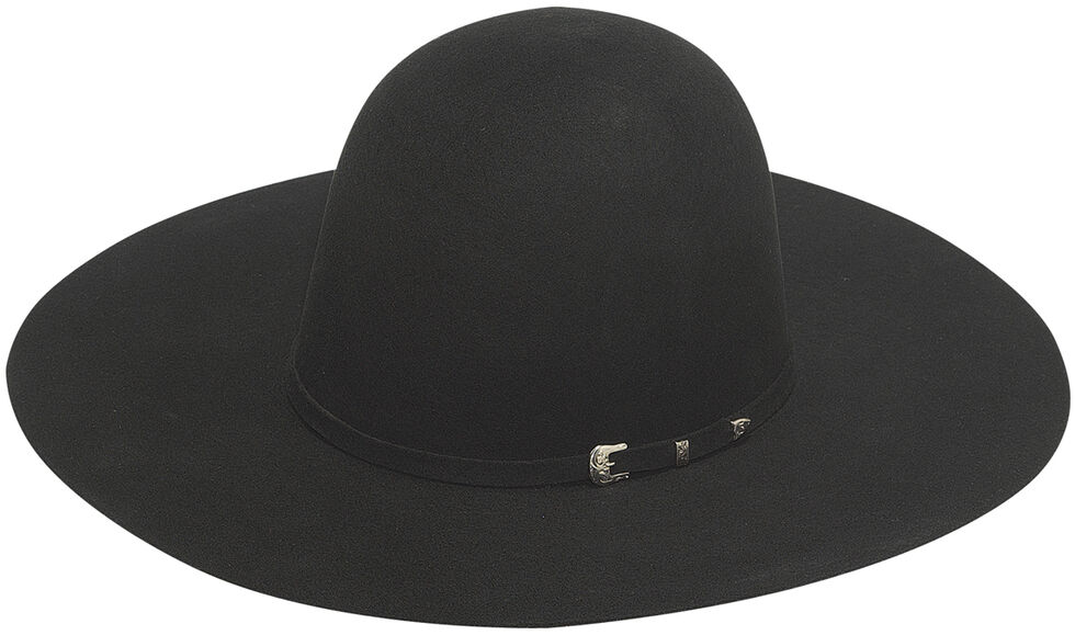Twister 2X Select Wool Men's Open Crown Hat , Black, hi-res