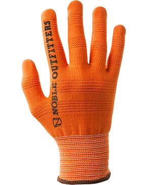 Noble Outfitters True Flex Roping Gloves, Orange, hi-res