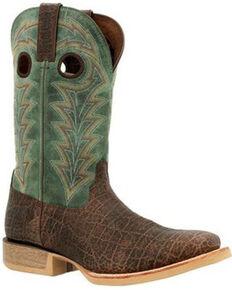 Durango Men's Rebel Pro Elephant Print Western Boots - Wide Square Toe, Brown, hi-res