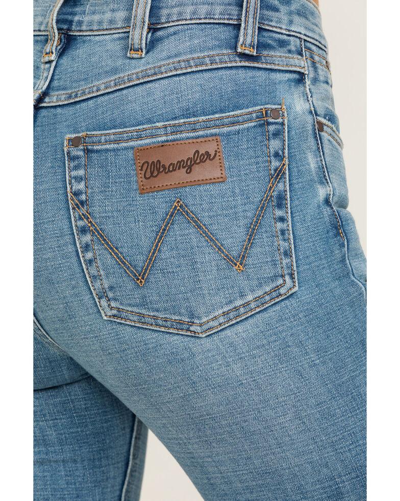 Wrangler Modern Women's Texas Ankle Skinny Jeans , Blue, hi-res