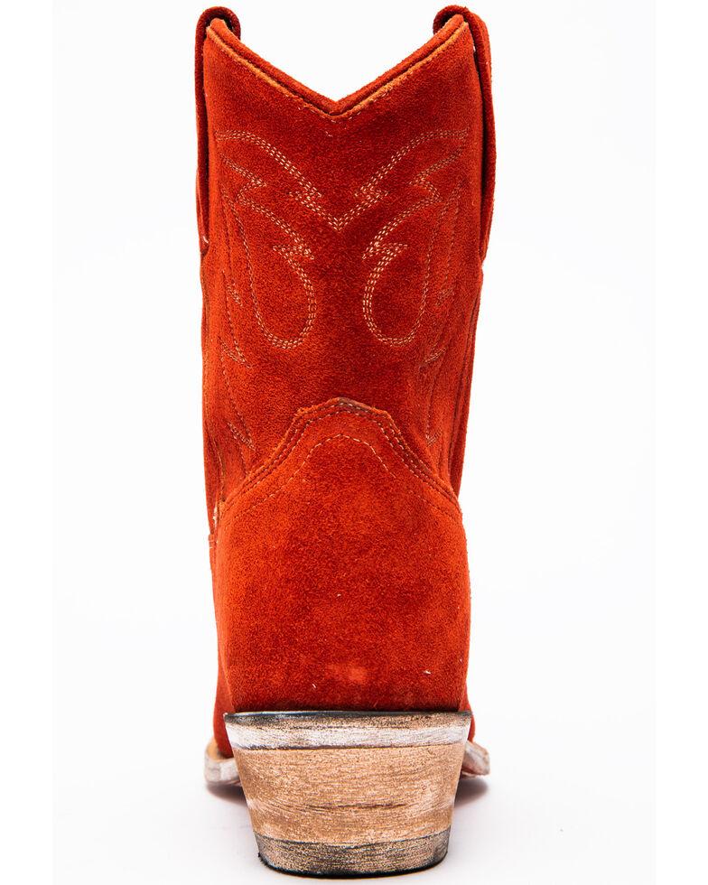 Dan Post Women's Standing Room Only Western Boots - Snip Toe, Red, hi-res