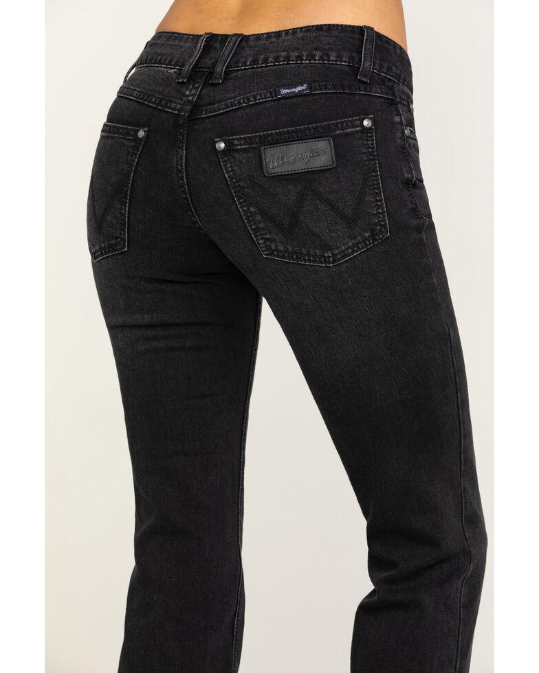 Wrangler Retro Women's Black Mae Boot Cut Jeans , Blue, hi-res