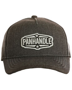 Panhandle Men's Star Patch Cap, Charcoal, hi-res