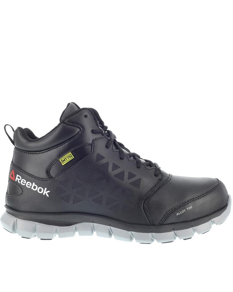 Reebok Women's Black Sublite Work Shoes - Alloy Toe, Black, hi-res
