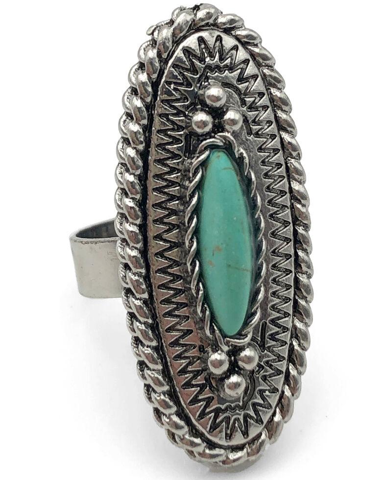 Cowgirl Confetti Women's Faded Love Ring, Silver, hi-res