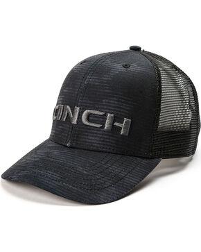 Cinch Men's Embroidered Logo Mesh Trucker Cap, Black, hi-res