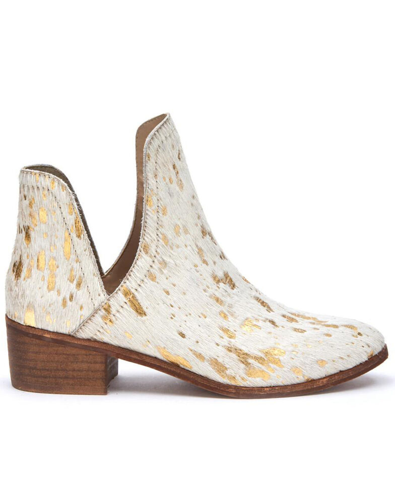 Matisse Women's Pronto Gold Spot Fashion Booties - Round Toe, Gold, hi-res