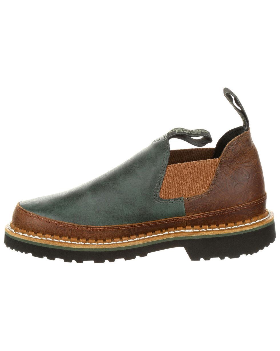 Georgia Boot Women's Giant Evergreen Romeo Shoes - Round Toe, Grey, hi-res