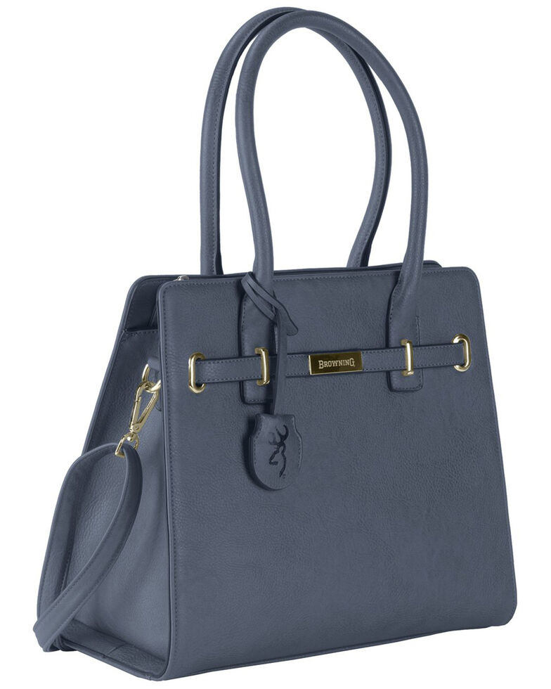 Browning Women's Blue Trudy Concealed Carry Handbag, Blue, hi-res