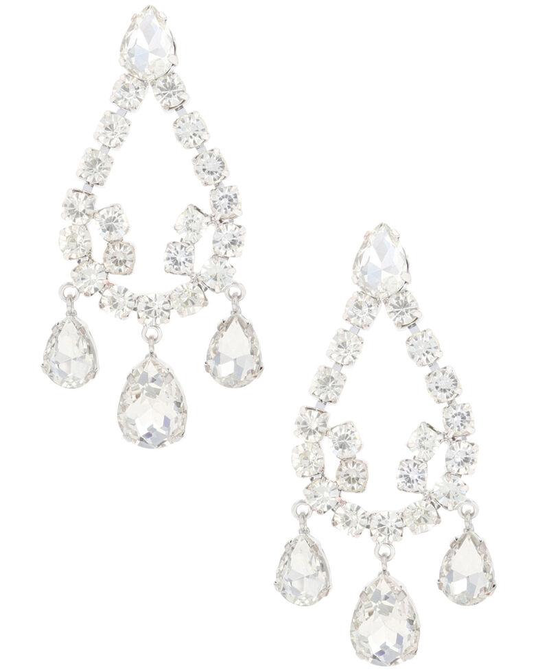 Montana Silversmiths Women's All That Glitters Earrings, Silver, hi-res