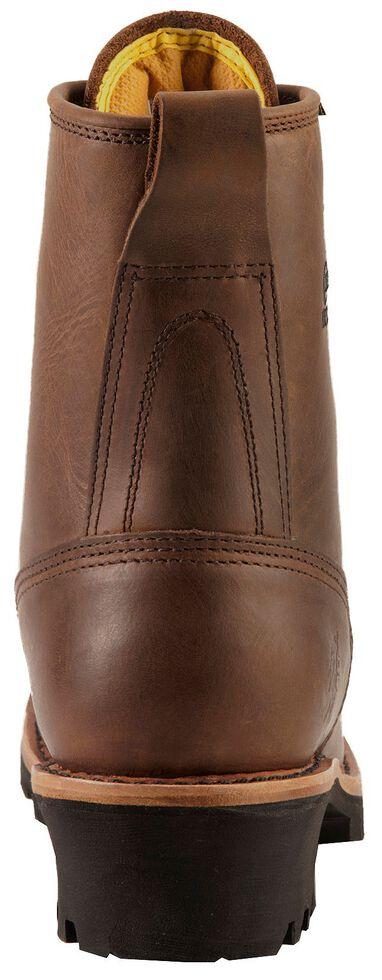 Chippewa Lace-Up Logger Boots - Steel Toe, Bay Apache, hi-res