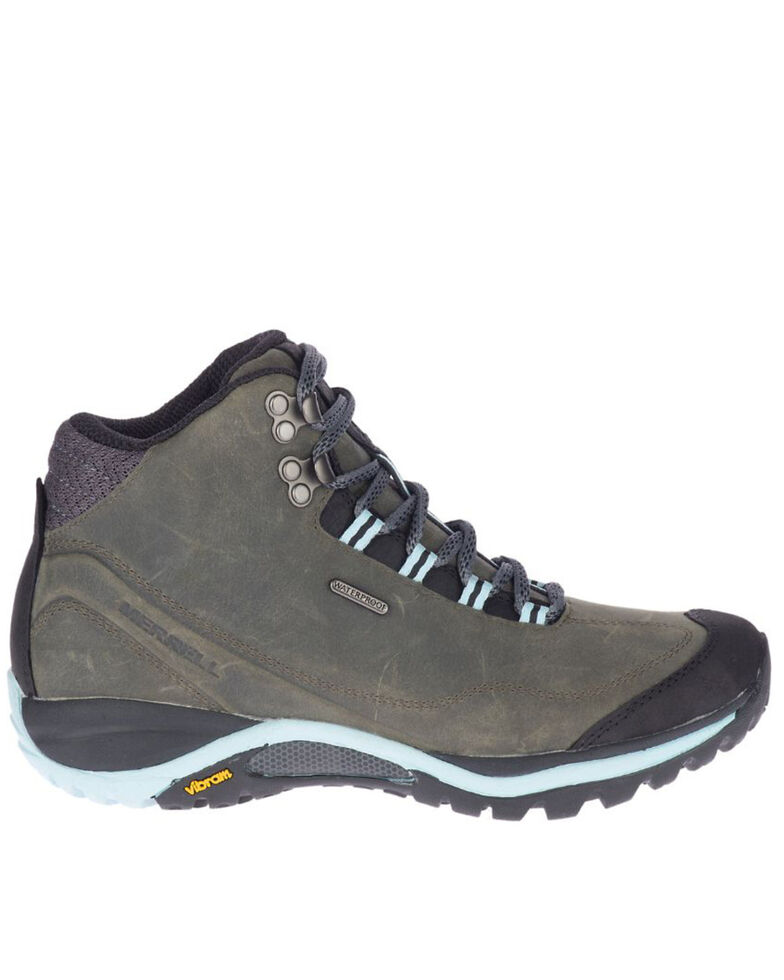 Merrell Women's Siren Traveller 3 Waterproof Hiking Boots - Soft Toe, Grey, hi-res
