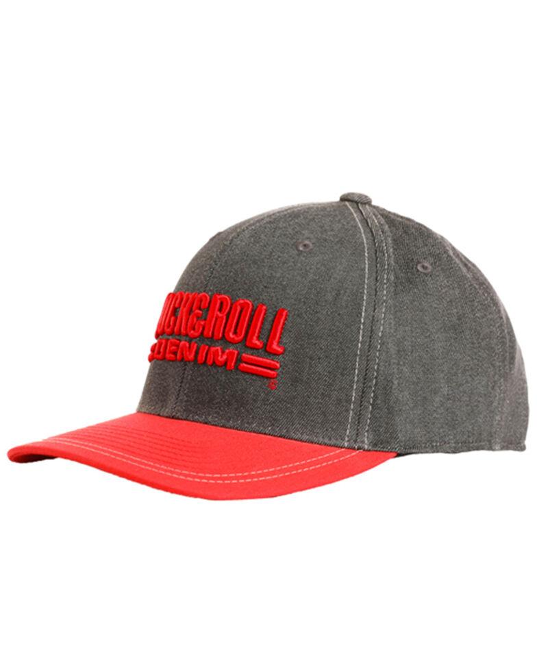 191c31d458c Rock   Roll Denim Men s Charcoal 3D Logo Cap - Country Outfitter