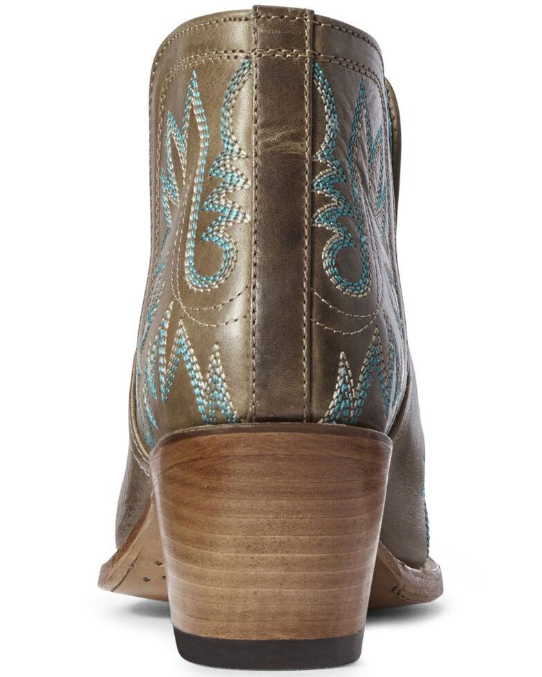 Ariat Women's Dixon Fashion Booties - Snip Toe, Brown, hi-res