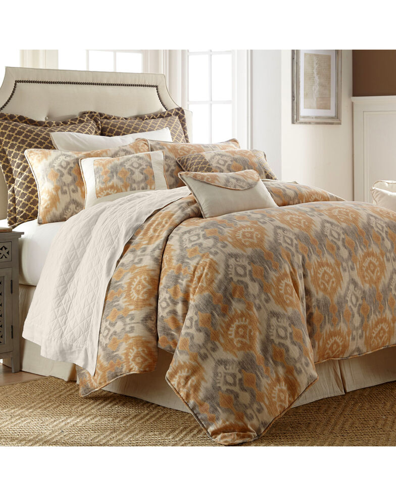 HiEnd Accents Casablanca 4-Piece Bedding Set, Super King, Multi, hi-res
