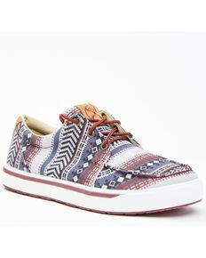 Twisted X Men's Dark Baja Hooey Loper Casual Shoes - Moc Toe, Multi, hi-res