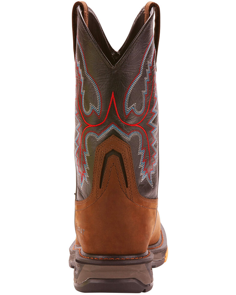 edc0cc14d85 Ariat Men's Dark Brown Workhog XT H20 Boots - Wide Square Toe ...
