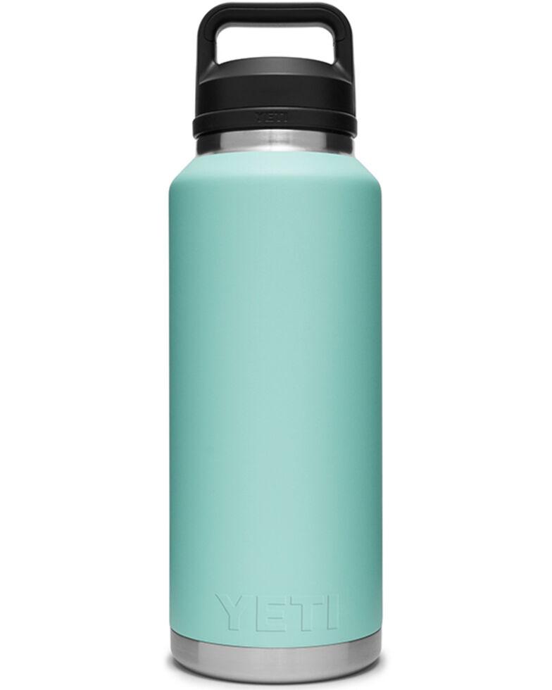 Yeti Teal Rambler 46oz Chug Cap Bottle, Teal, hi-res