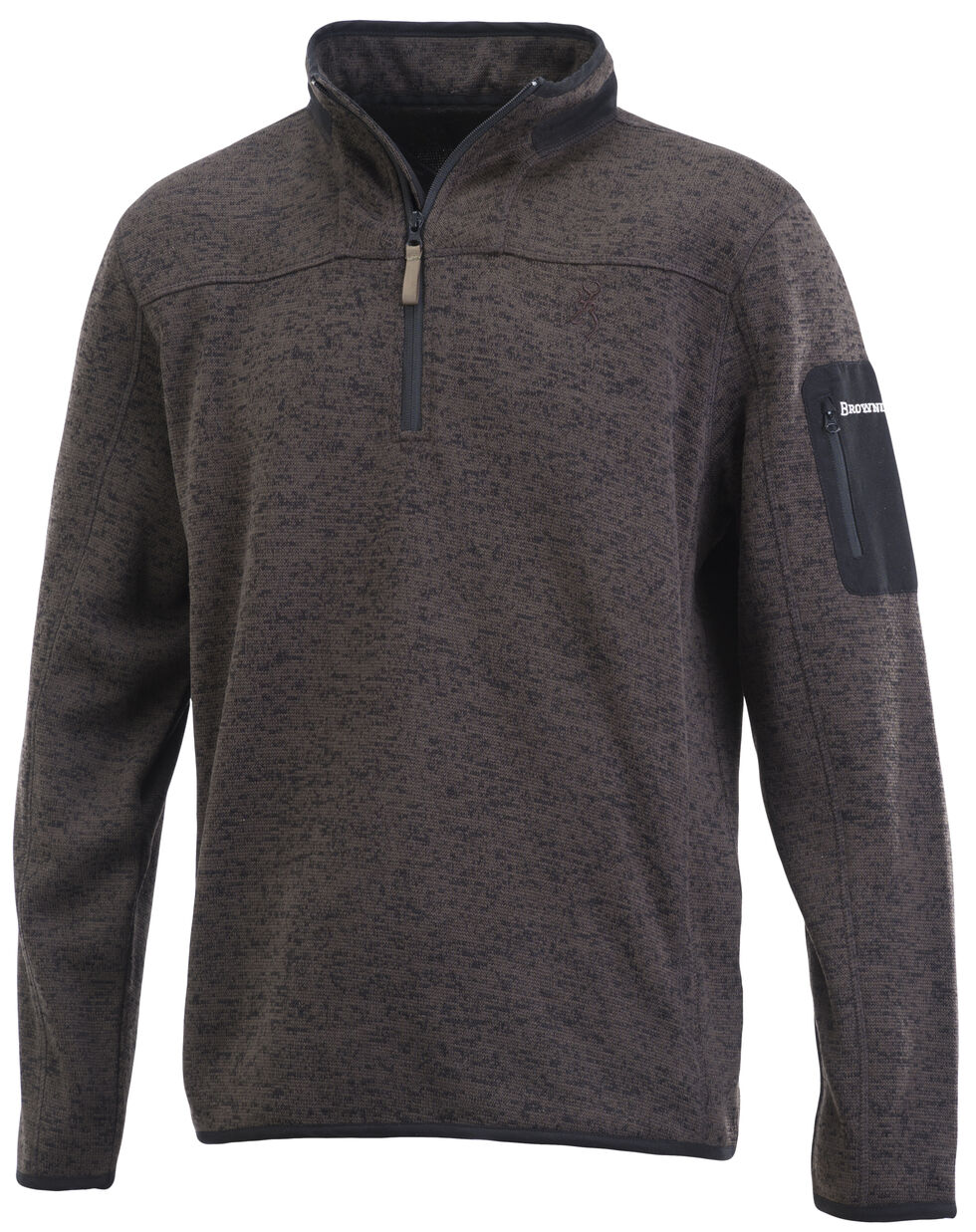 Browning Men's Black Laredo Sweater Pullover, Black, hi-res
