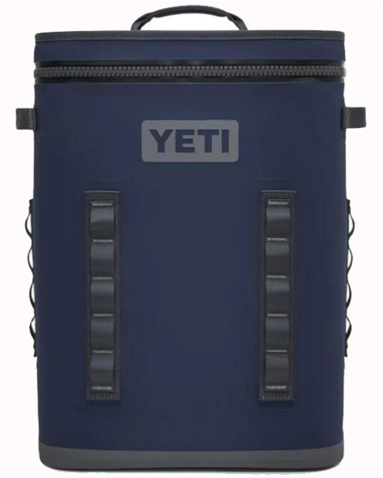 Yeti Hopper Backflip 24 Cooler, Navy, hi-res