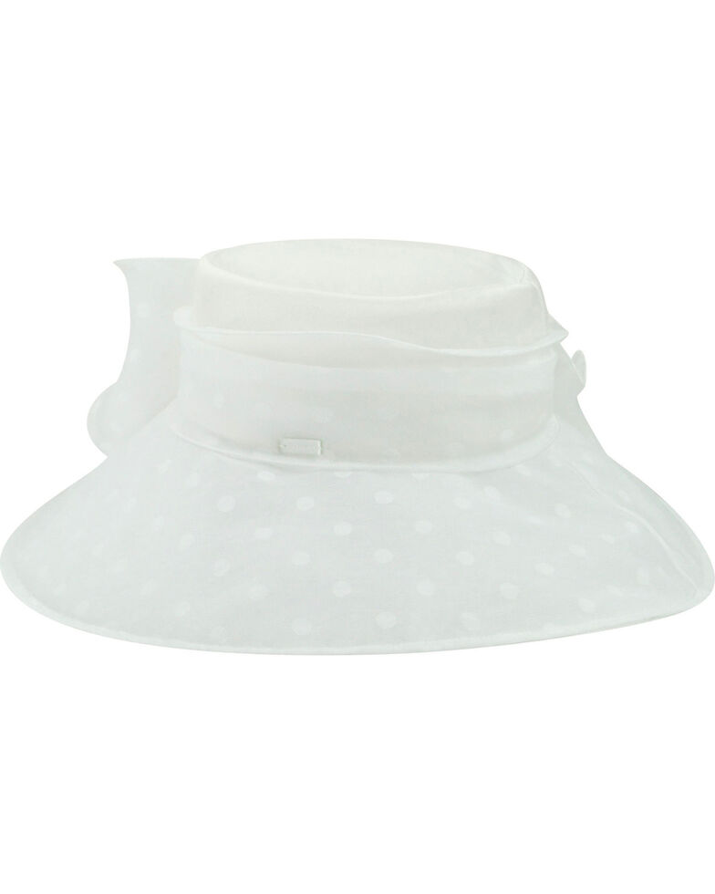 Betmar Women's Suellen Hat, White, hi-res