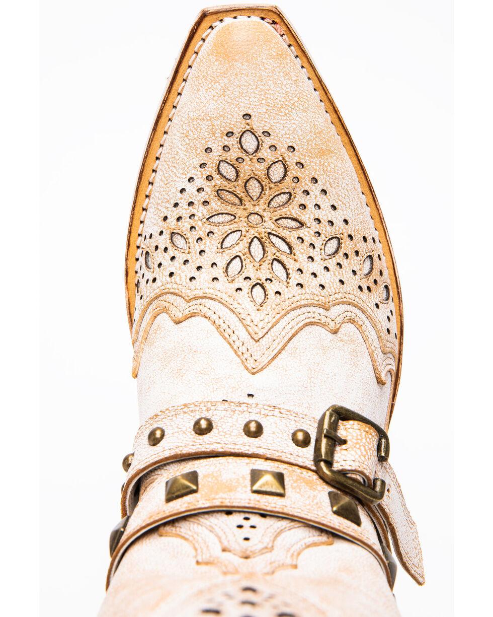 Dan Post Women's Restless Western Boots - Snip Toe, White, hi-res