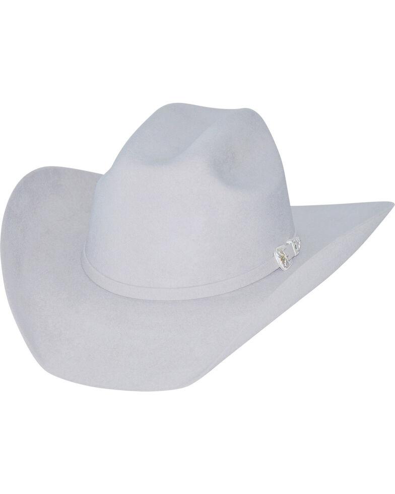 Bullhide Kids' Silver Belly Legacy 8X Fur Blend Cowboy Hat, Silver Belly, hi-res