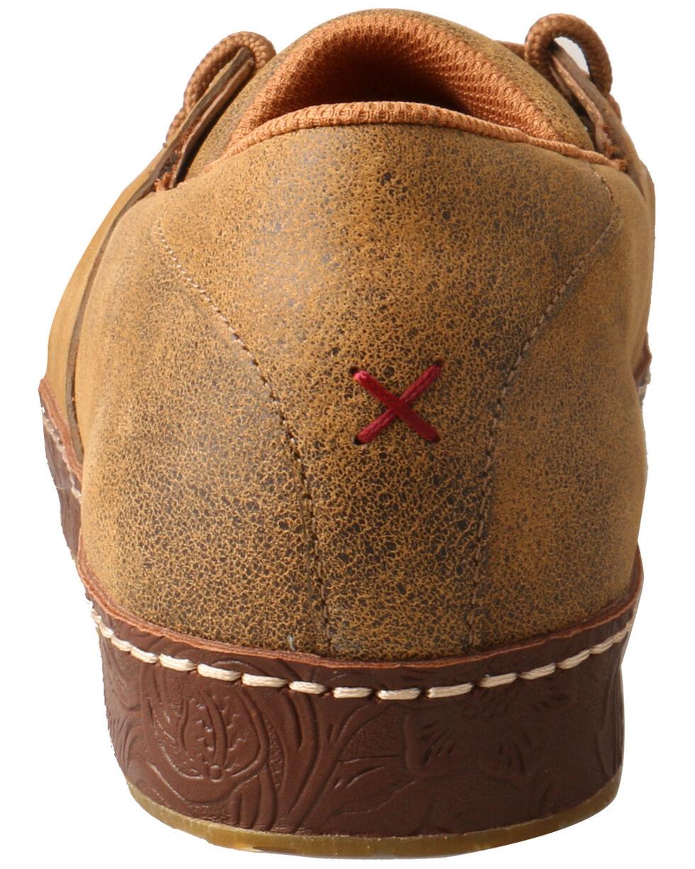 Twisted X Men's Tooled Edge Western Sneakers - Moc Toe, Brown, hi-res
