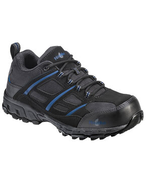 Nautilus Men's Slip Resistant Work Shoes - Composite Toe, Black, hi-res