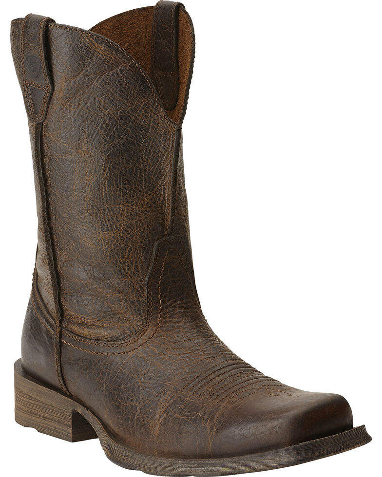 Ariat Rambler Cowboy Boots   Square Toe by Ariat
