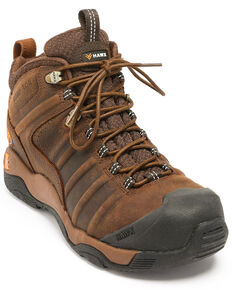Hawx® Men's Axis Hiker Boots - Composite Toe, Brown, hi-res