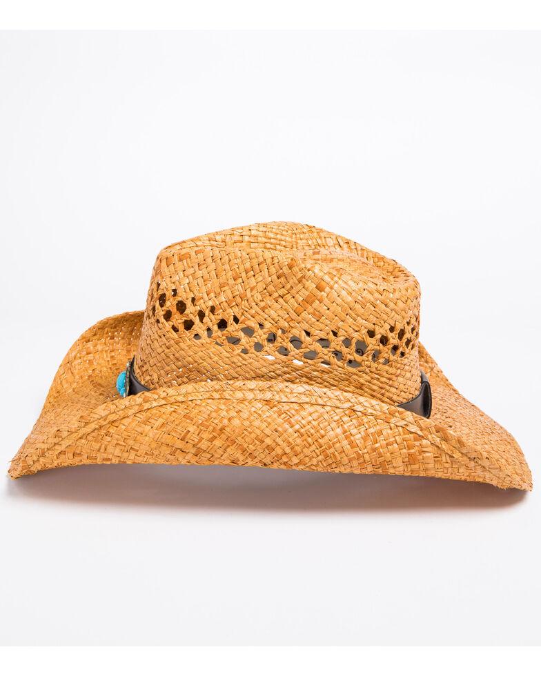 Shyanne Women's Jade Crochet Cowgirl Hat, Brown, hi-res