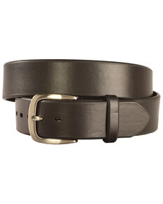 Ariat Downtown Black Basic Belt, Black, hi-res