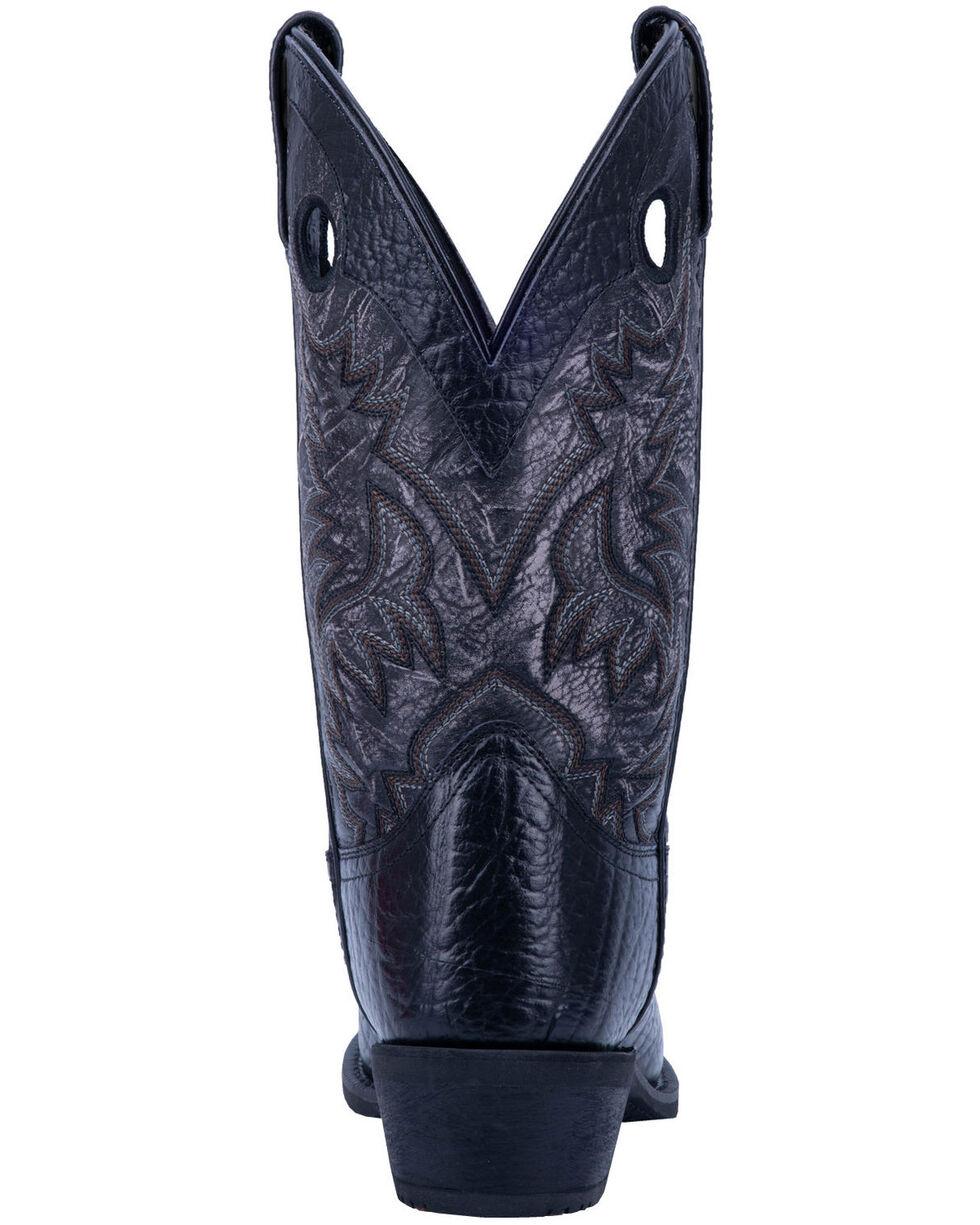 Laredo Men's Patton Western Boots - Narrow Square Toe, Black, hi-res
