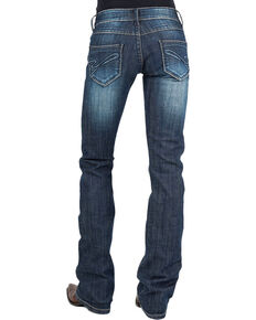 Stetson Women's Hollywood Bootcut Jeans, Blue, hi-res