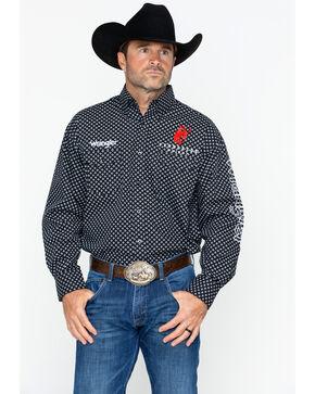 Wrangler Men's Black Pendleton Logo Western Shirt , Black, hi-res