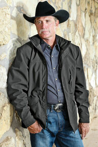 STS Ranchwear Men's Brazos Jacket - 4XL, Gunmetal, hi-res