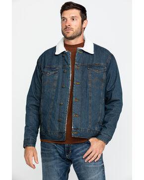 Wrangler Sherpa Lined Denim Jacket, Denim, hi-res