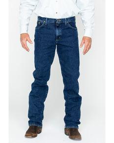 George Strait by Wrangler Men's 47 Cowboy Cut Straight Leg Jeans , Blue, hi-res