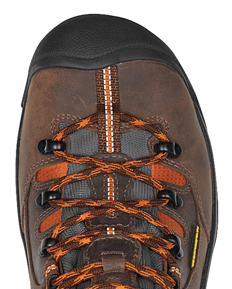 Keen Men's Pittsburgh Mid Waterproof Boots - Round Toe, Brown, hi-res