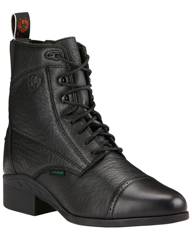 Ariat Women's Heritage Breeze Lace Paddock Boots, Black, hi-res