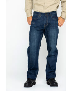 Hawx® Men's Denim Stretch Work Jeans , Indigo, hi-res
