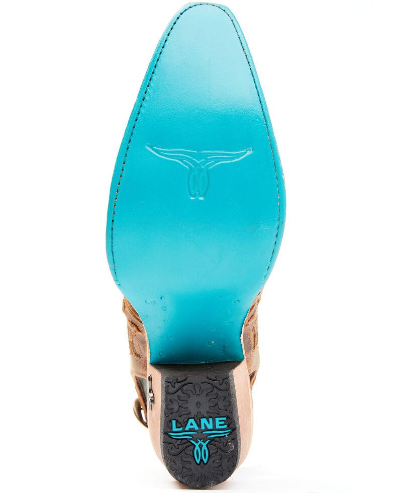 Lane Women's Robin Mules - Snip Toe, Caramel, hi-res